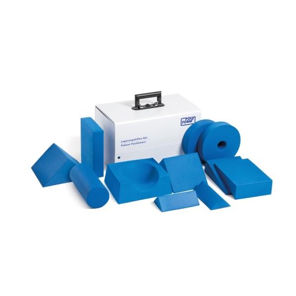 Lagerungshilfenset 11-teilig Komplett mit Kunststoffkoffer