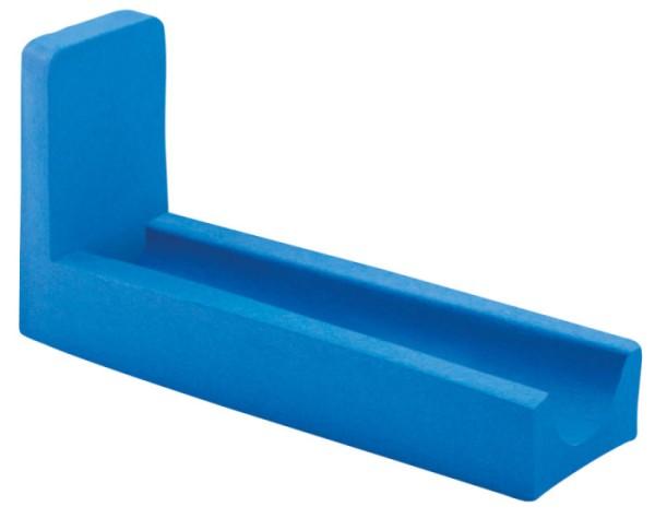 Beinlagerungsschiene flach in Skinfoam blau