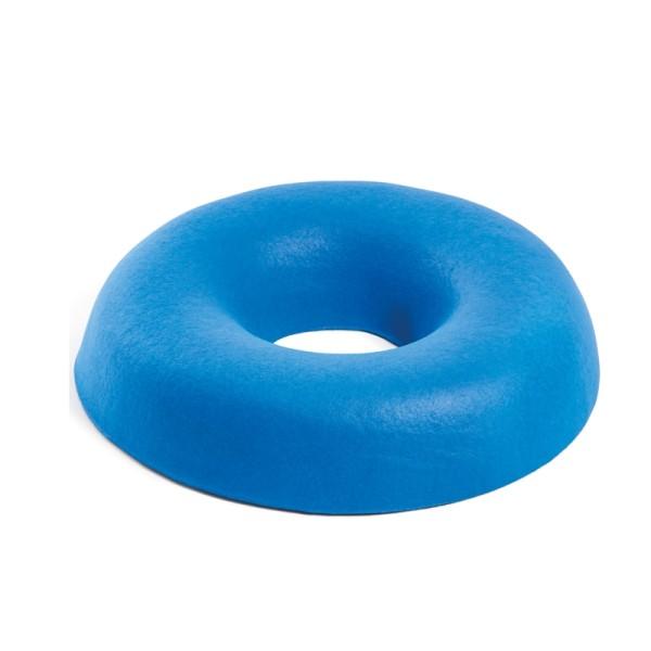 Sitzkissen rund in Skinfoam blau