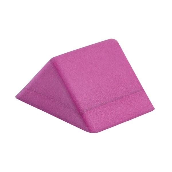 Lagerungshilfe Dreieck 24×18×12 cm, Material Soft-Pe violett