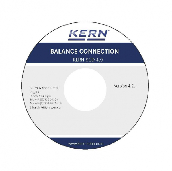 Software BalanceConnection f. KERN-Waagen